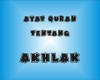 Ayat AlQuran Tentang Akhlak Nabi Muhammad