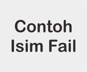Kumpulan Contoh Isim Fail Dalam Al Quran
