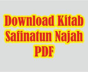 Download Kitab Safinatun Najah pdf Lengkap Dengan Terjemahanya
