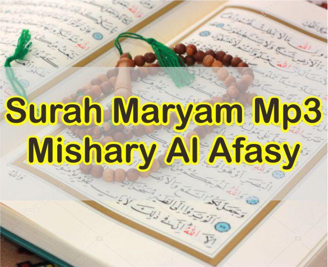 Download Surah Maryam Mp3 Mishary Al Afasy Gratis Full