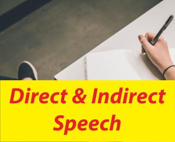 Makalah Pengertian Direct dan Indirect Speech Bahasa Inggris
