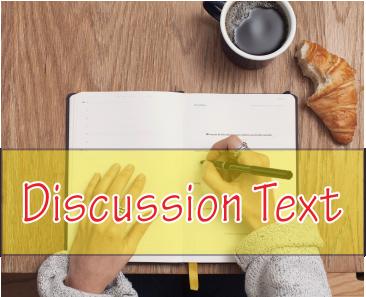 Artikel Tentang Pengertian Teks Diskusi, Struktur, Unsur Kebahasaan