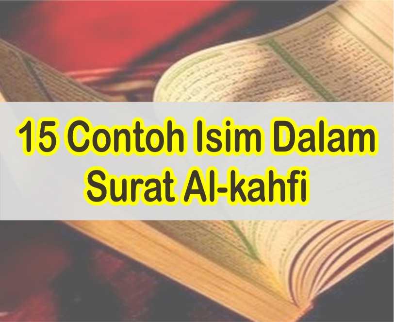 Contoh Isim Dalam Surat Al-kahfi Beserta Kedudukannya