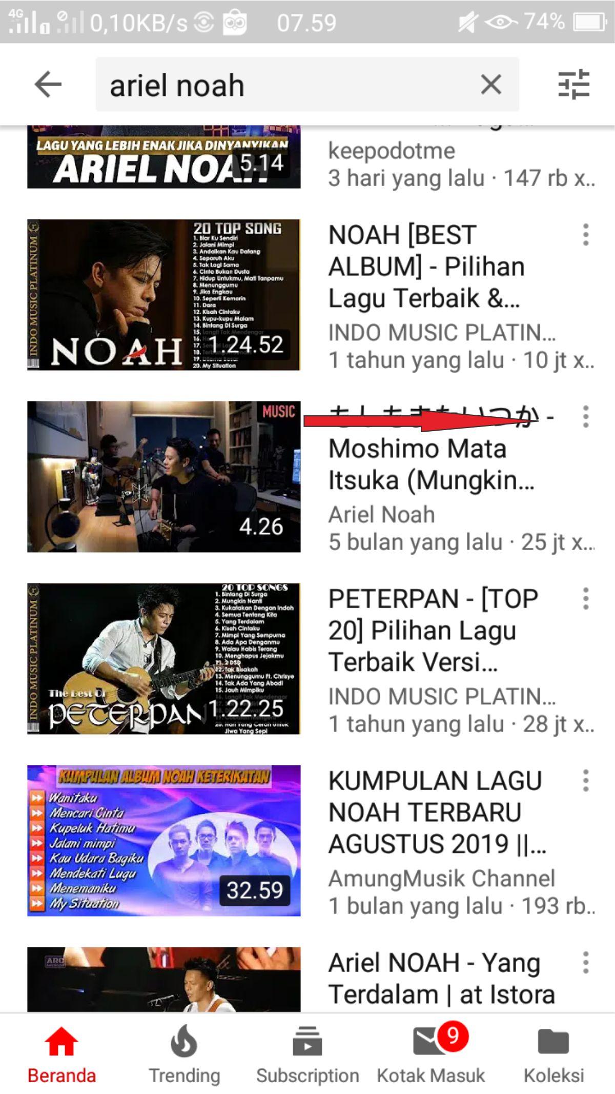Cara Download Lagu Mp3 Dari Youtube Lewat Hp Paling Mudah