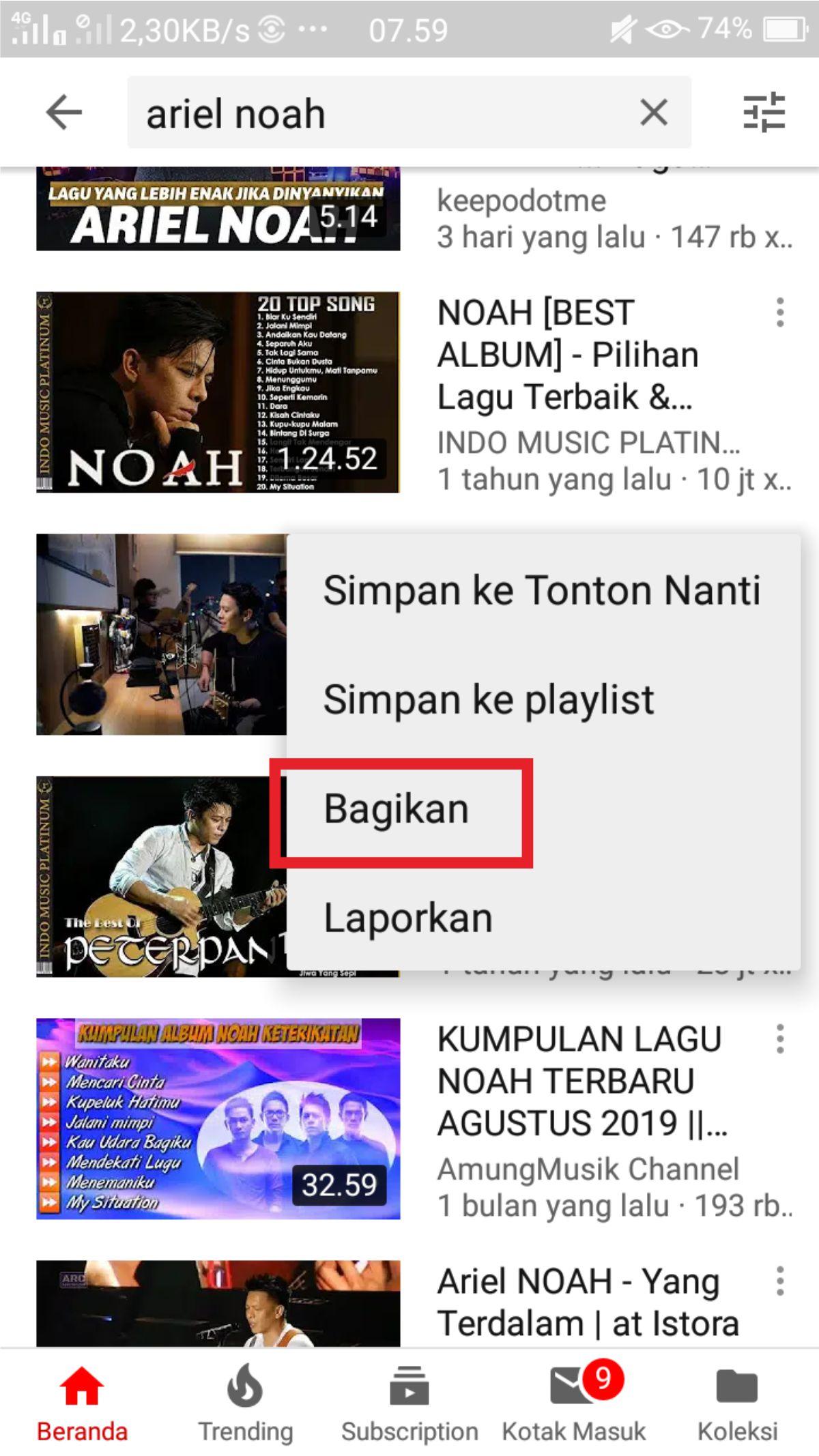 2 Cara Download Lagu Mp3 Dari Youtube Lewat Hp