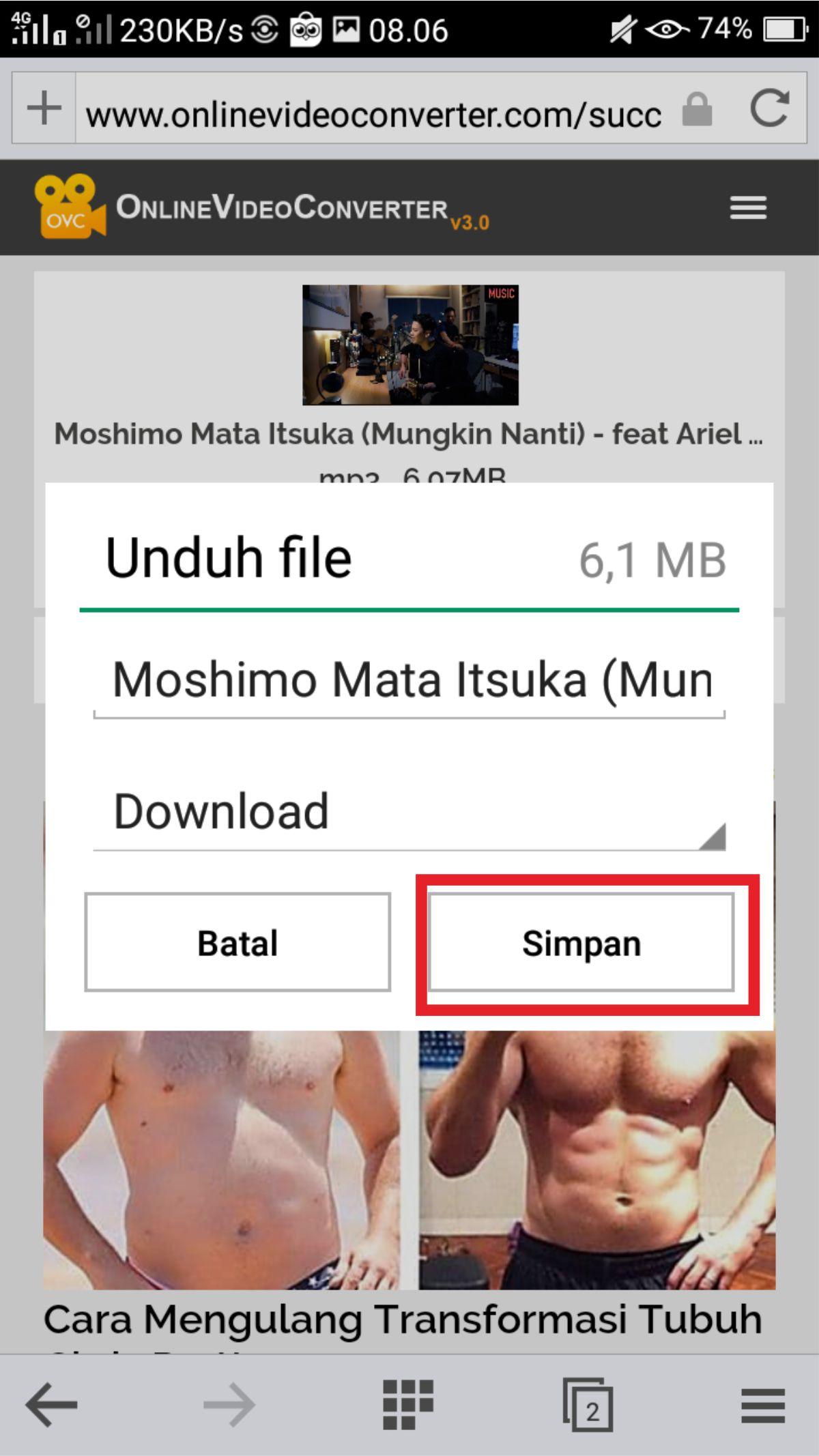 7 Cara Download Lagu Mp3 Dari Youtube Lewat Hp