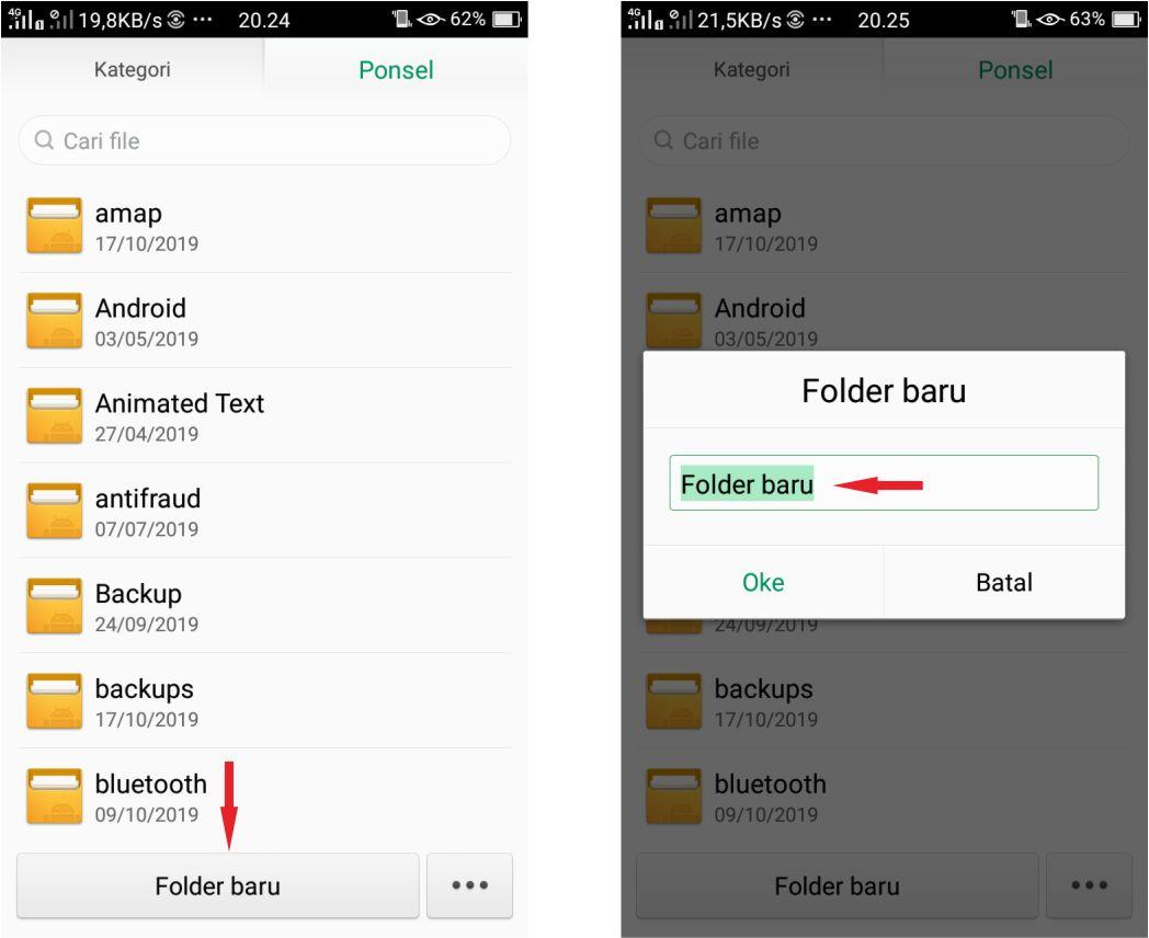 Cara Buat Folder Baru di Android Dengan Mudah