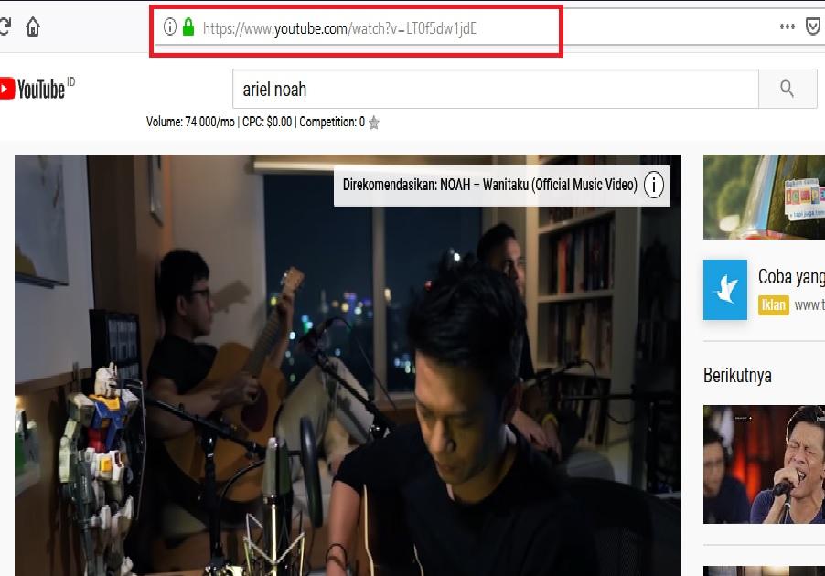Cara Download Lagu Mp3 Dari Youtube Lewat PC Gratis