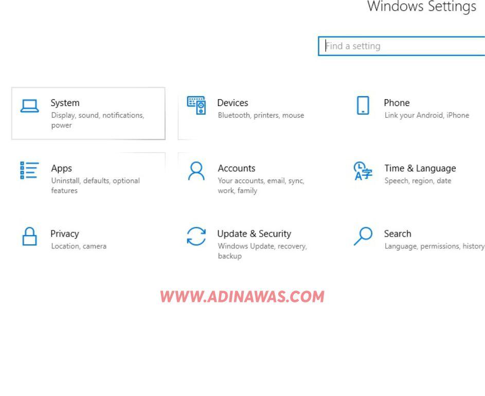 Tutorial Untuk Mengecilkan Layar Laptop dan Komputer Windows 10