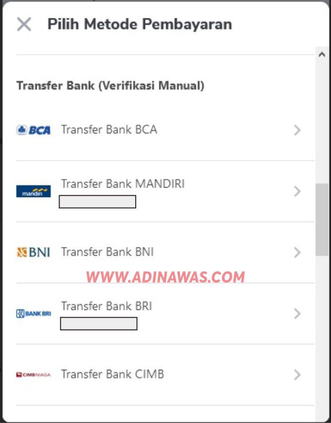 5 Pilihan Bank Belanja di Tokopedia Dengan Transfer ATM