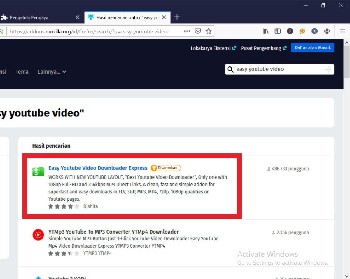 Tutorial Download Lagu Mp3 Dari Youtube Lewat Browser PC