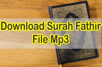 Download Surah Fathir Mp3 Suara Merdu
